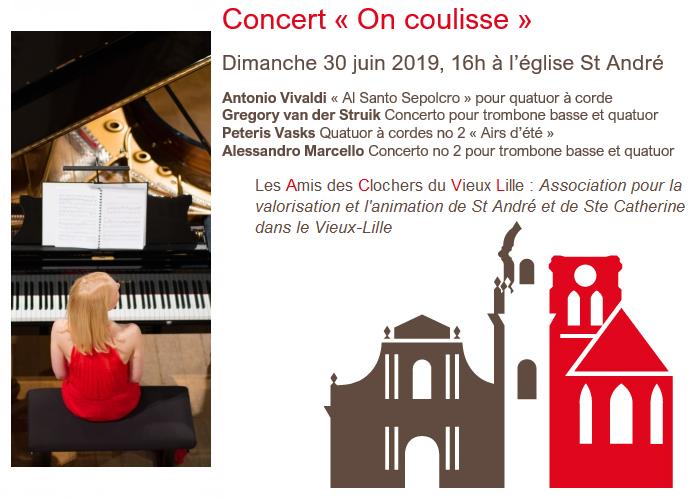 Affiche du concert du 30 juin 2019 à 16h